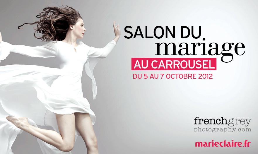 Salon du mariage au carrousel paris france french grey - Salon du master paris ...