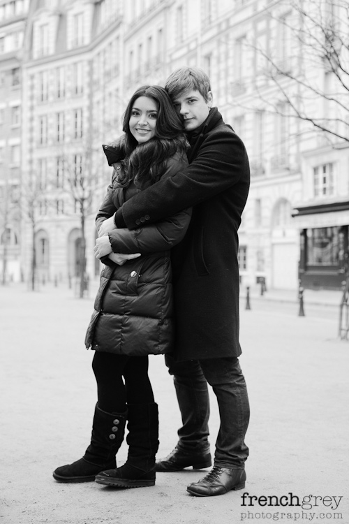 Engagement Paris French Grey Photography Valery 003