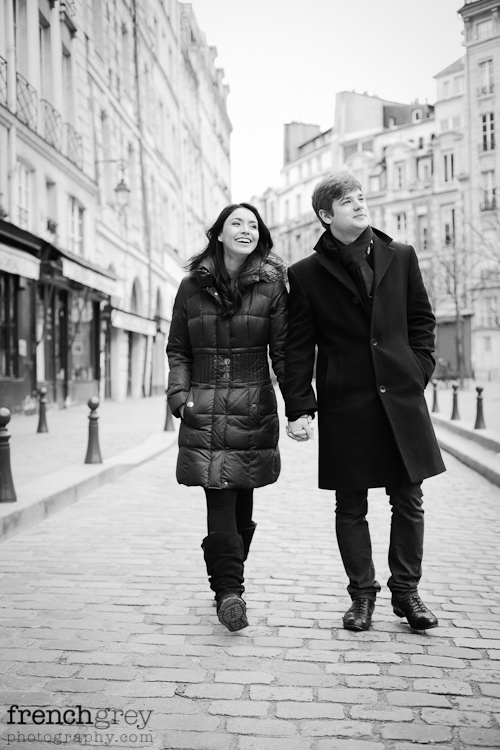 Engagement Paris French Grey Photography Valery 006