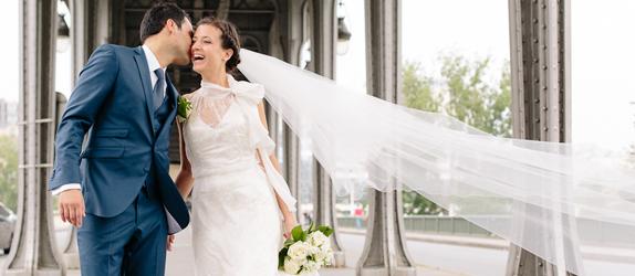 Wedding at Chapelle Royale St Ferdinand and reception at Salons des Arts et Métiers, Paris