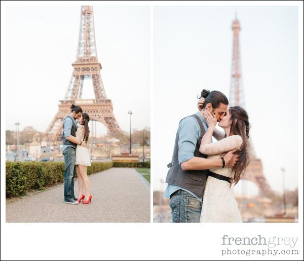 engagement shoot Paris