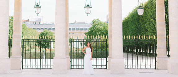 Quinceanera Paris shoot