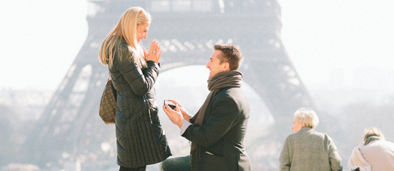 proposal Paris photographer
