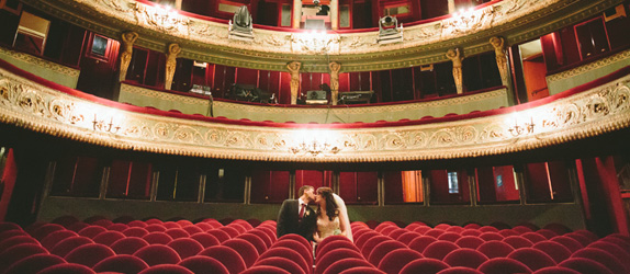 Paris theatre elopement