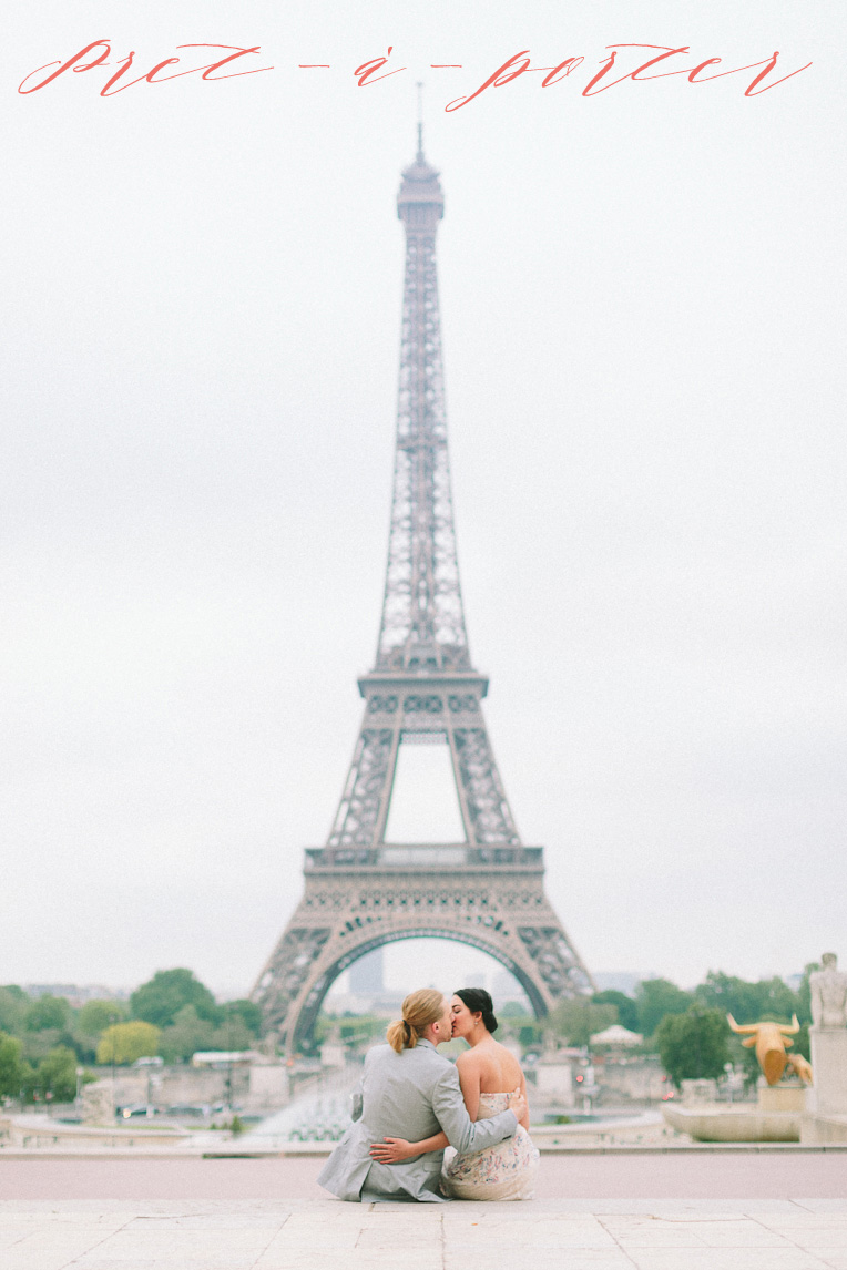 Eiffel Tower engagement shoot