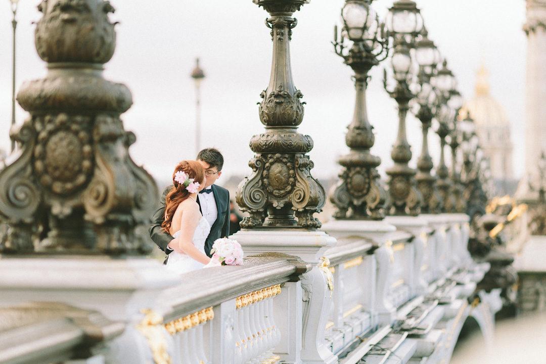 pre-wedding Paris photographer