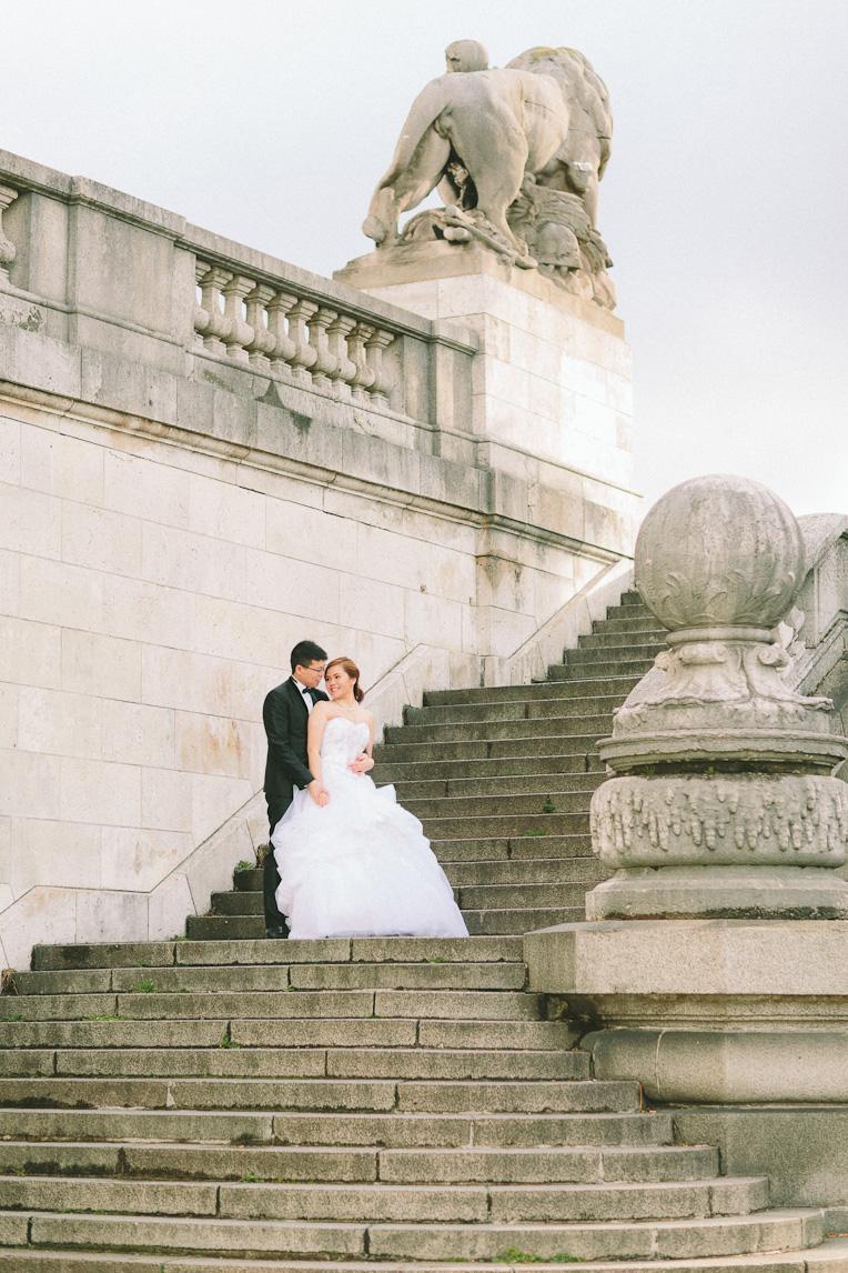 Pre wedding Paris French Grey Photography 026