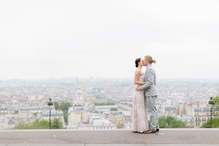 Paris engagement French Grey Photography 100