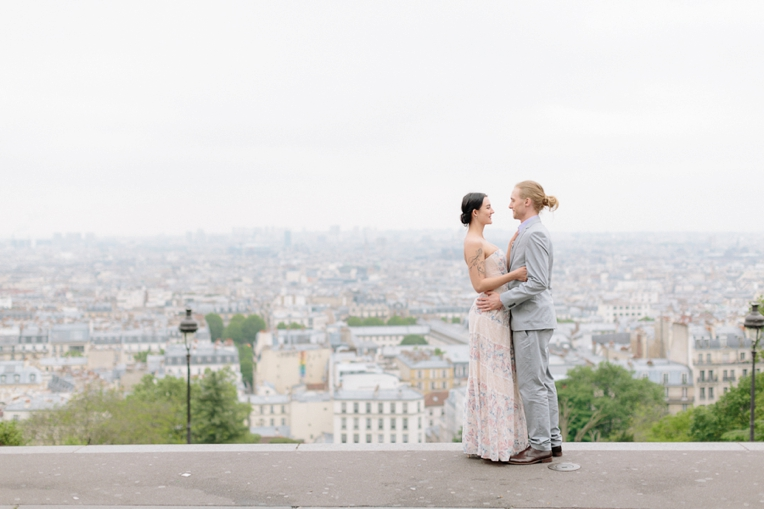 Paris engagement French Grey Photography 101