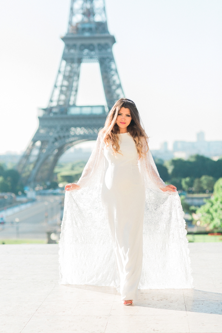 Maternity Shoot: Eiffel Tower | French Grey Photography