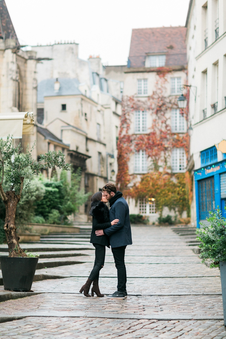 Paris Engagement French Grey Photography 035
