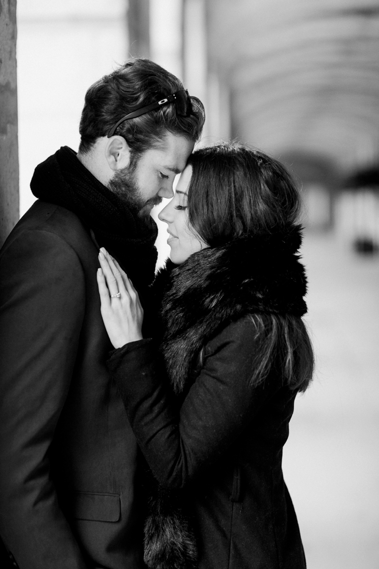 Paris Engagement French Grey Photography 076