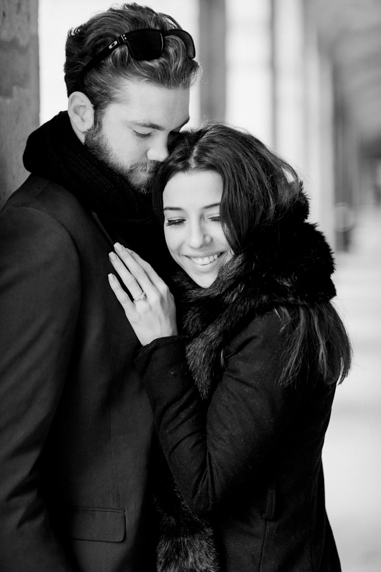 Paris Engagement French Grey Photography 078