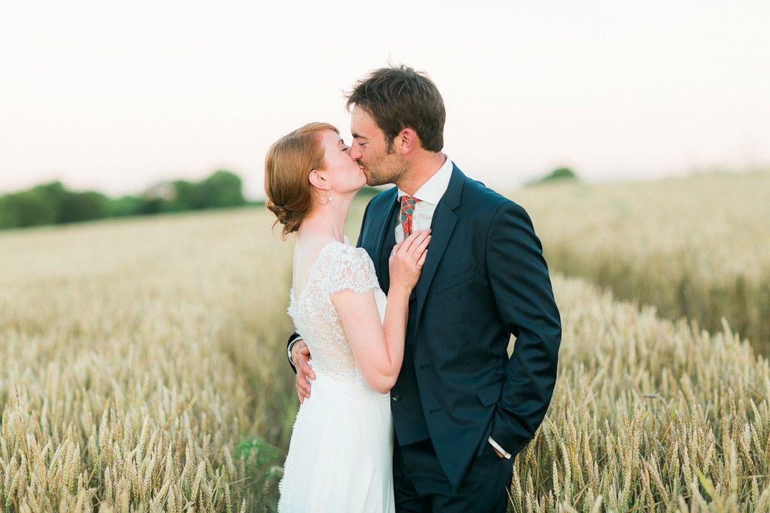 Paris photographer wedding Normandy romantic natural light film fine art English Grange de Bourgoult