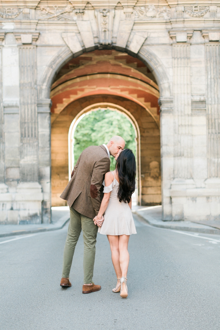 Paris Engagement French Grey Photography 007