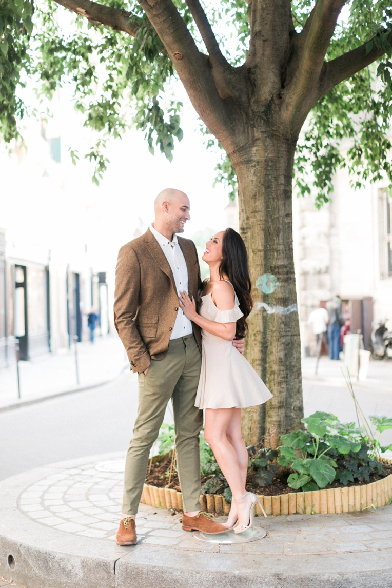 Paris Engagement French Grey Photography 063