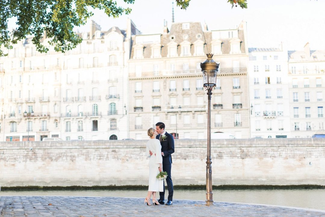 Paris wedding photographer romantic elopement France professional intimate Eiffel Tower fine art film natural light