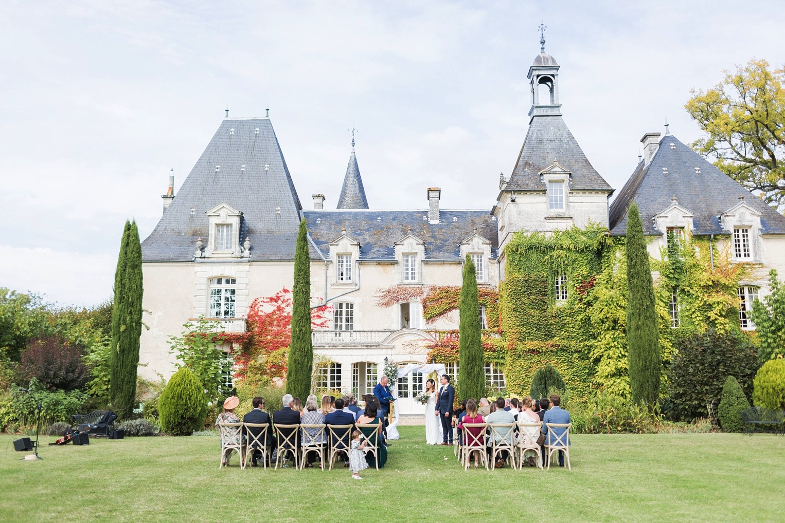 Chateau Charmant Wedding French Grey Photography25