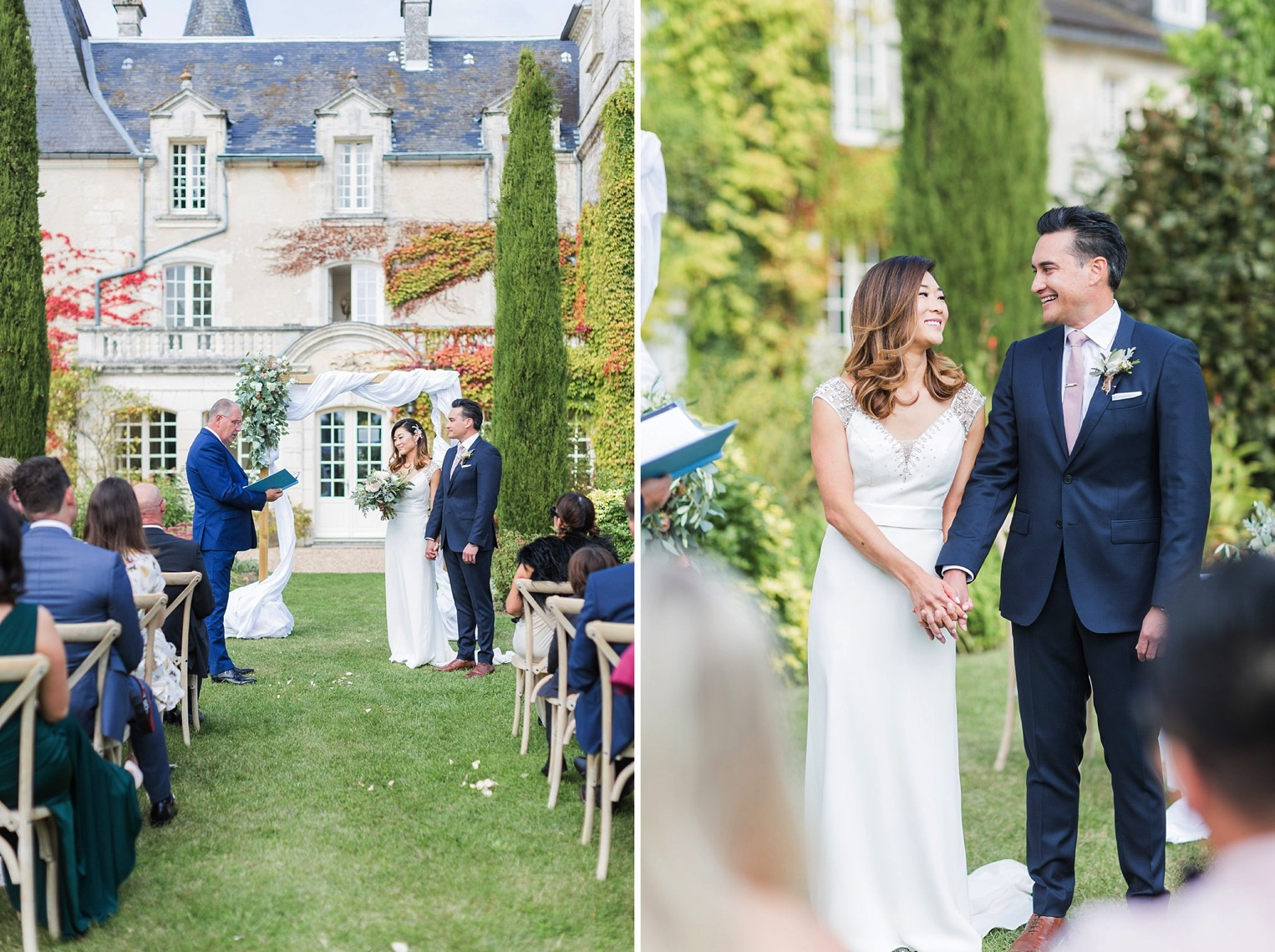 Chateau Charmant Wedding French Grey Photography26