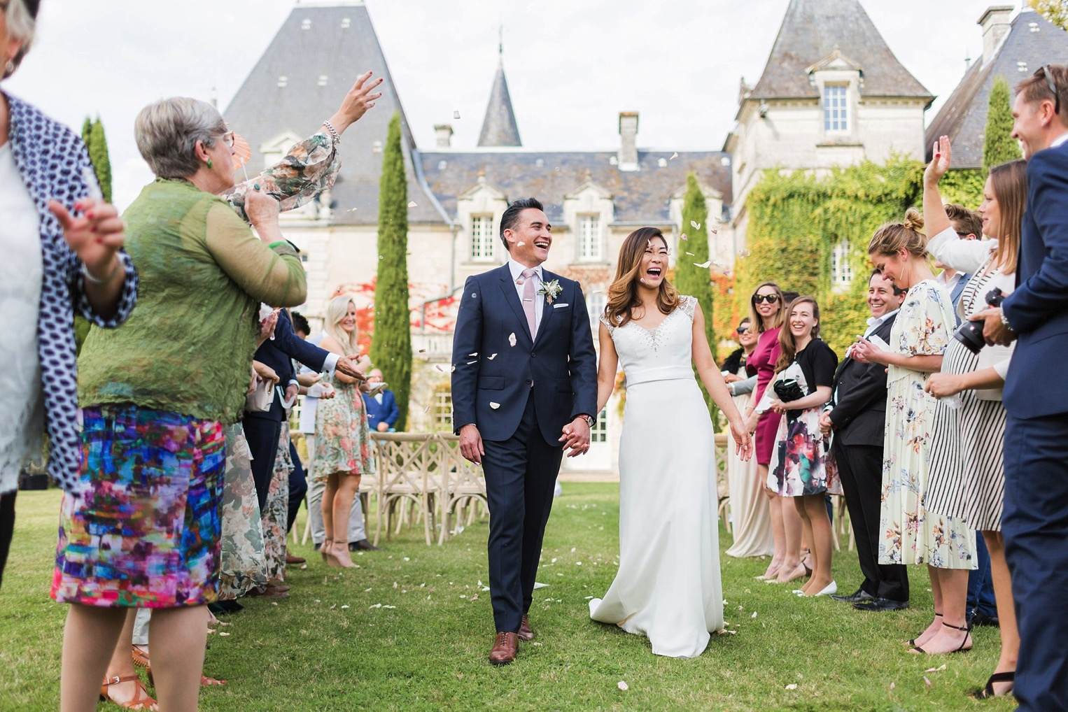 Chateau Charmant Wedding French Grey Photography33