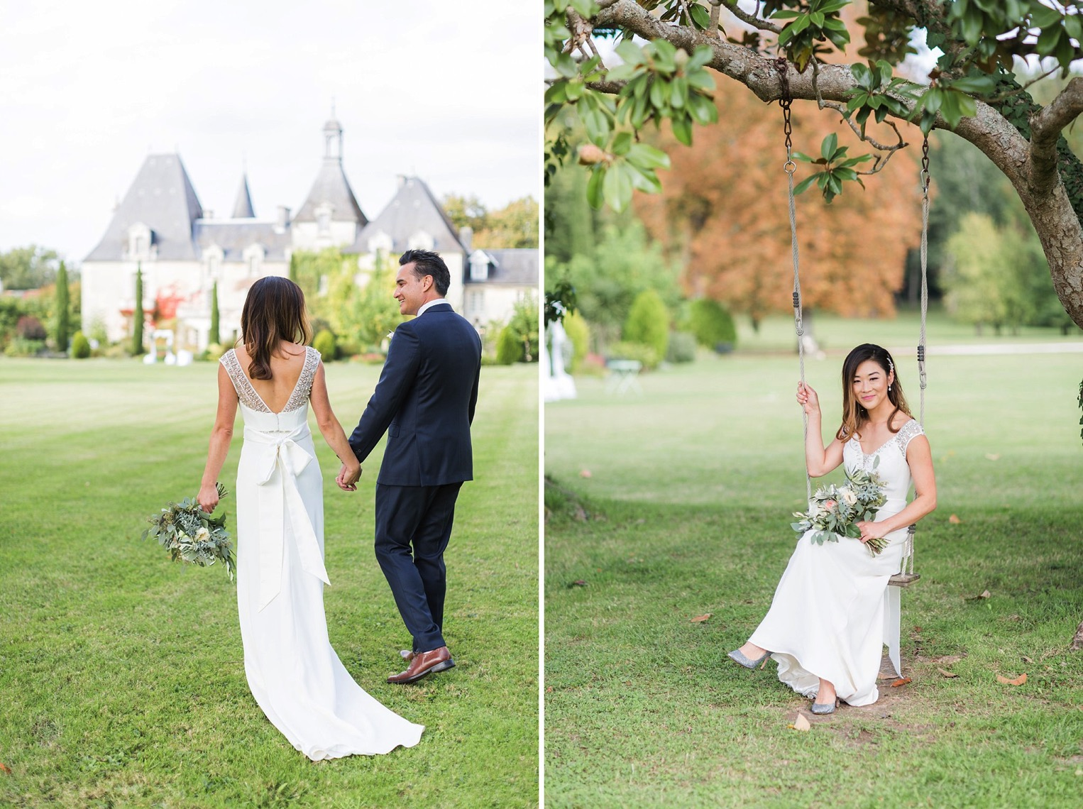 Chateau Charmant Wedding French Grey Photography46