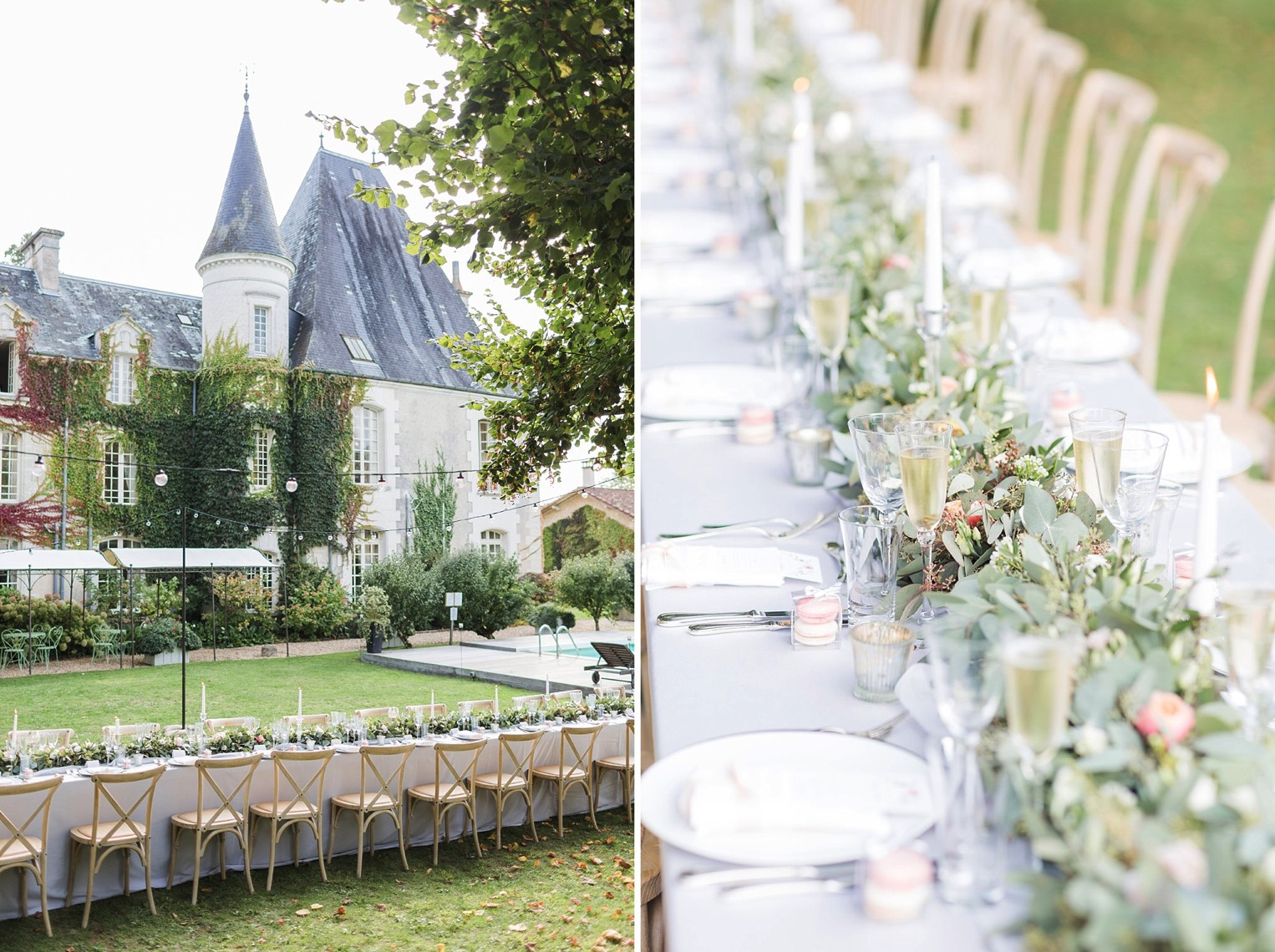 Chateau Charmant Wedding French Grey Photography50