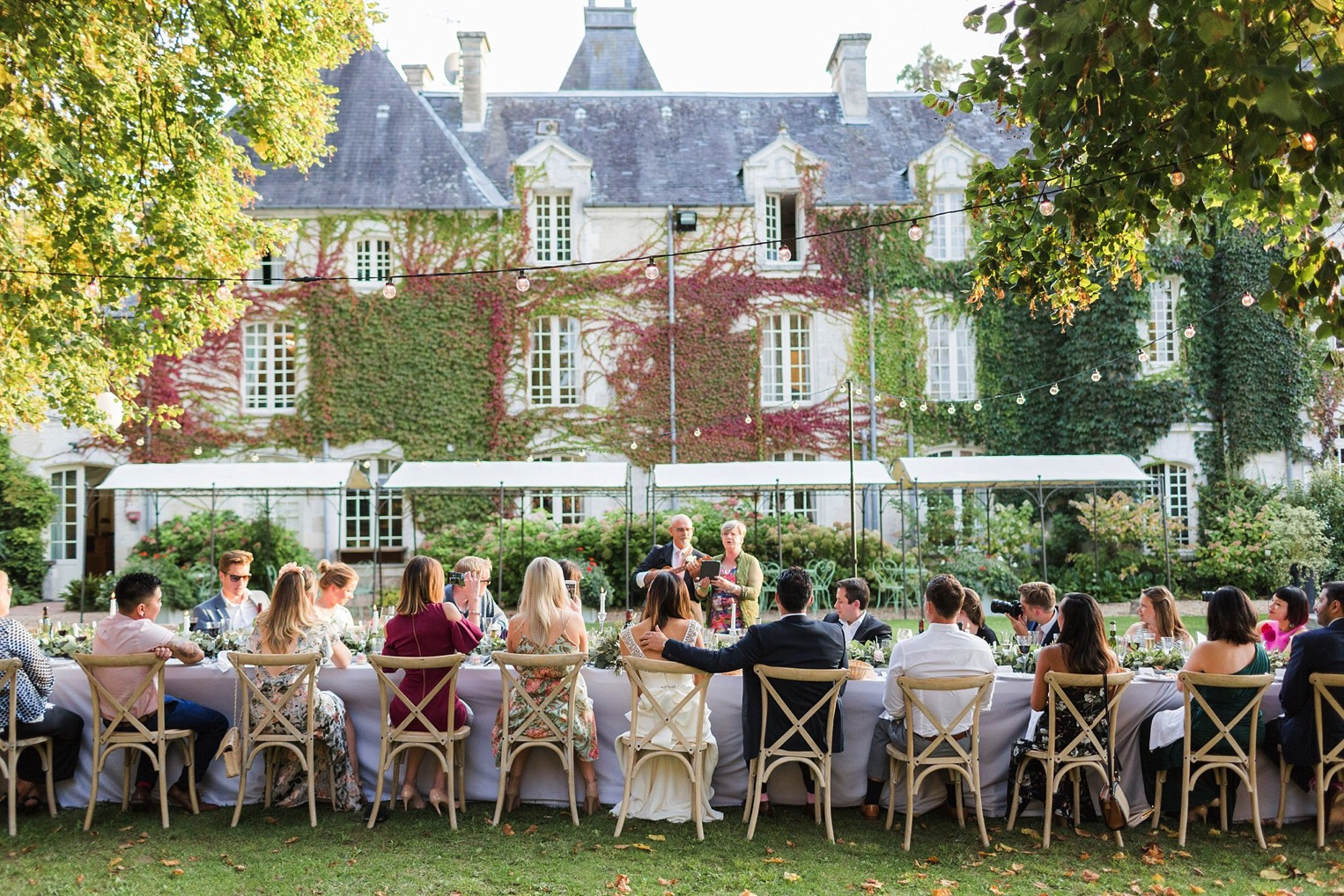 Chateau Charmant Wedding French Grey Photography58