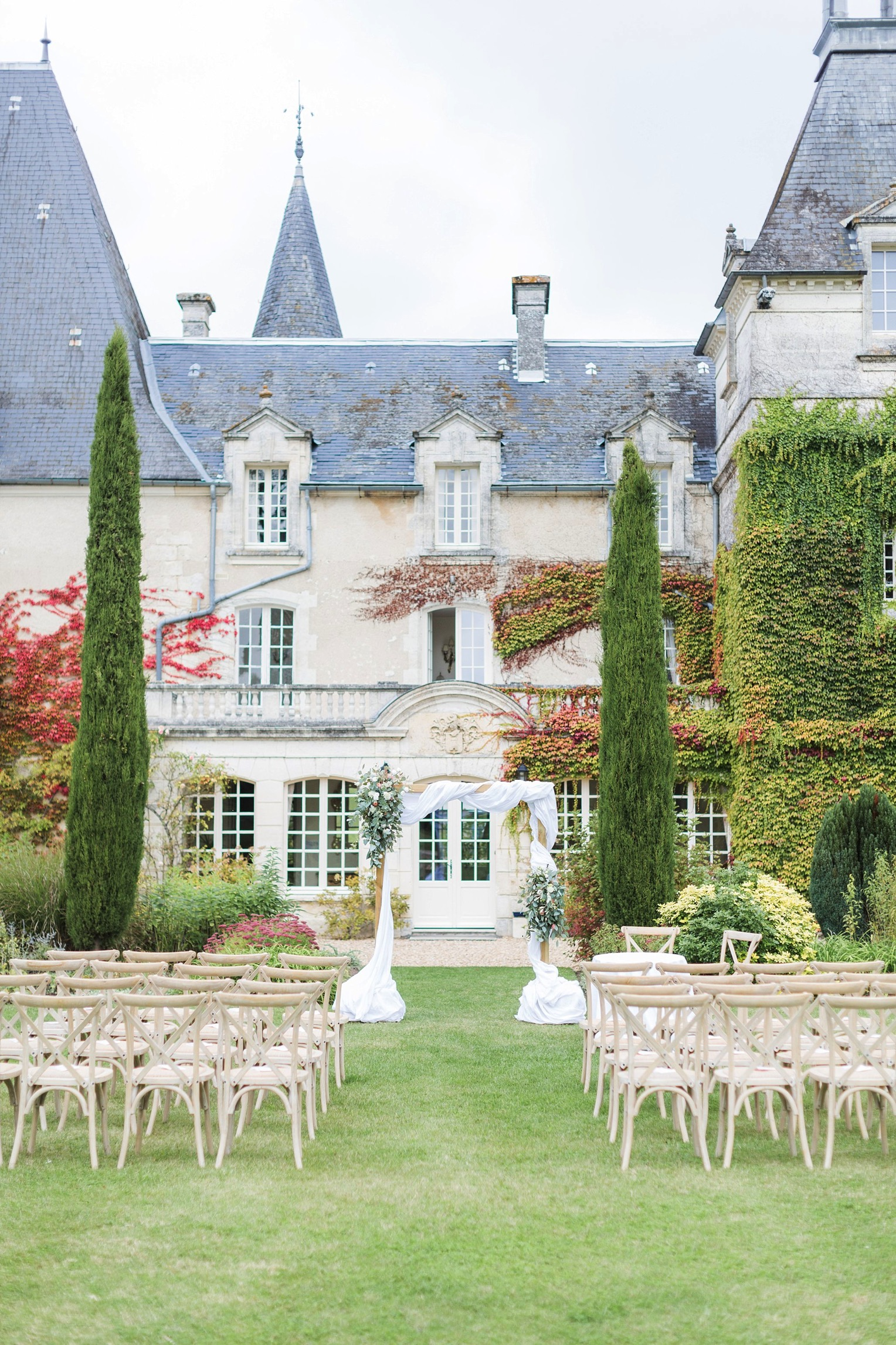 Chateau Charmant Wedding French Grey Photography74
