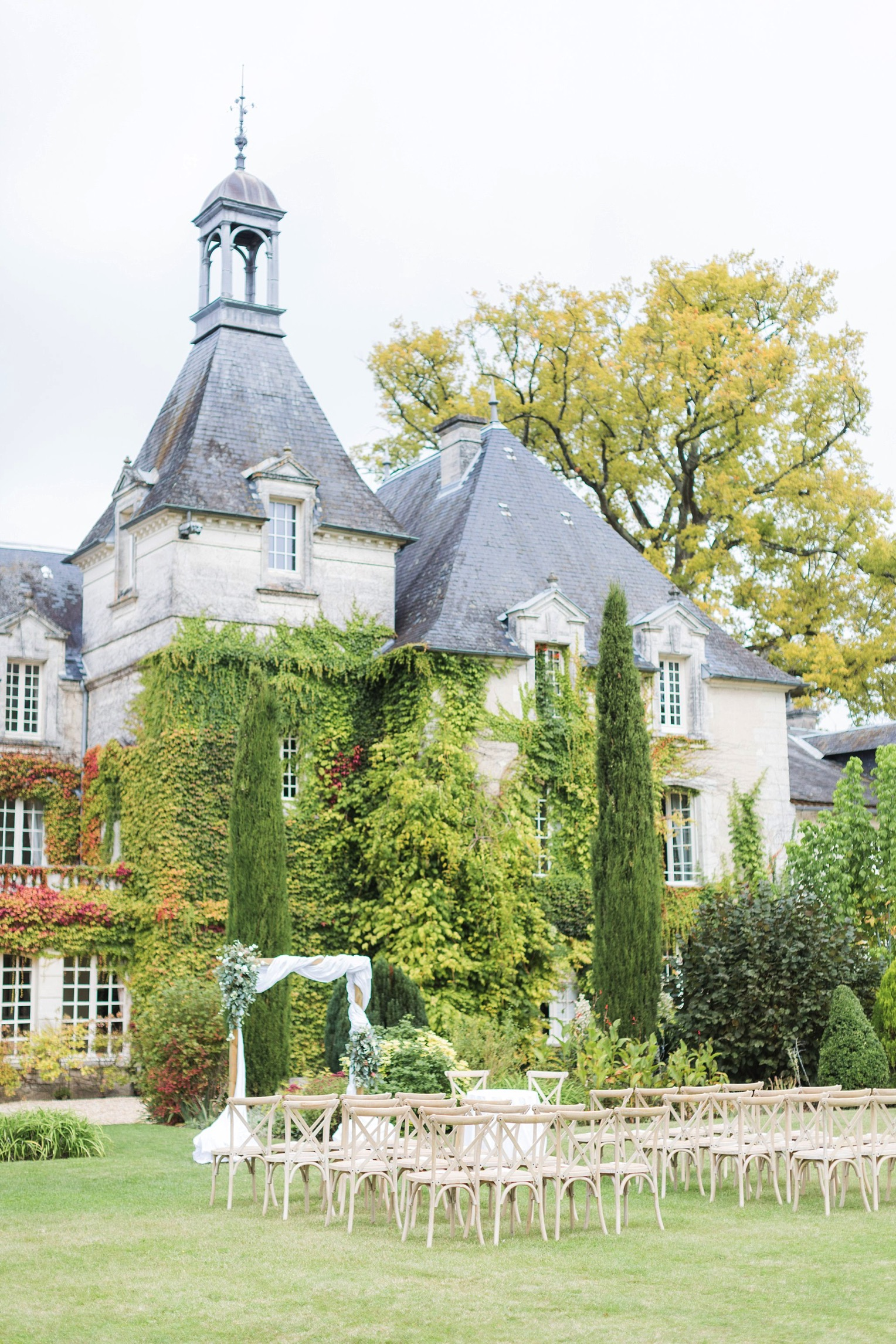 Chateau Charmant Wedding French Grey Photography75