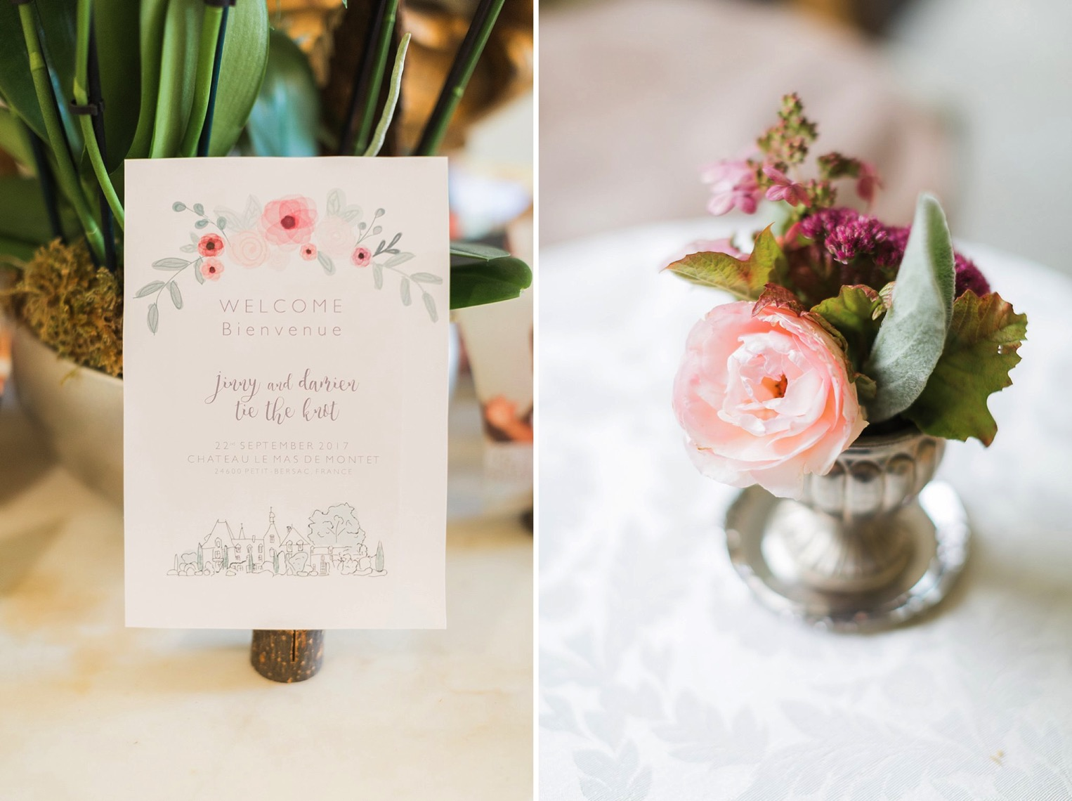 Chateau Charmant Wedding French Grey Photography8