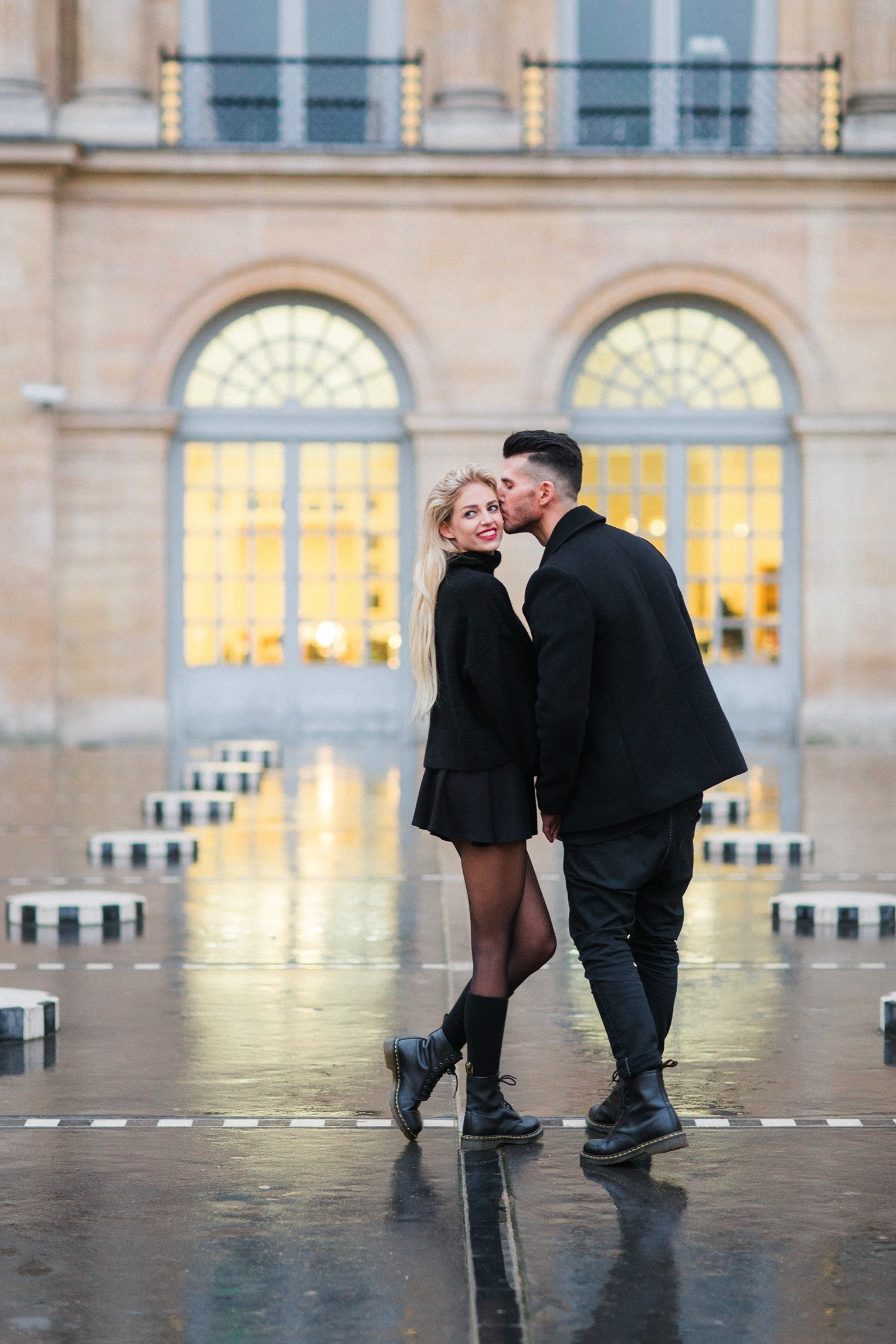 Proposal Eiffel Tower French Grey Photography Paris29