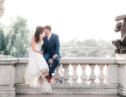 Paris elopement engagement wedding photographer romantic Louvre France best professional intimate Eiffel Tower fine art film natural light