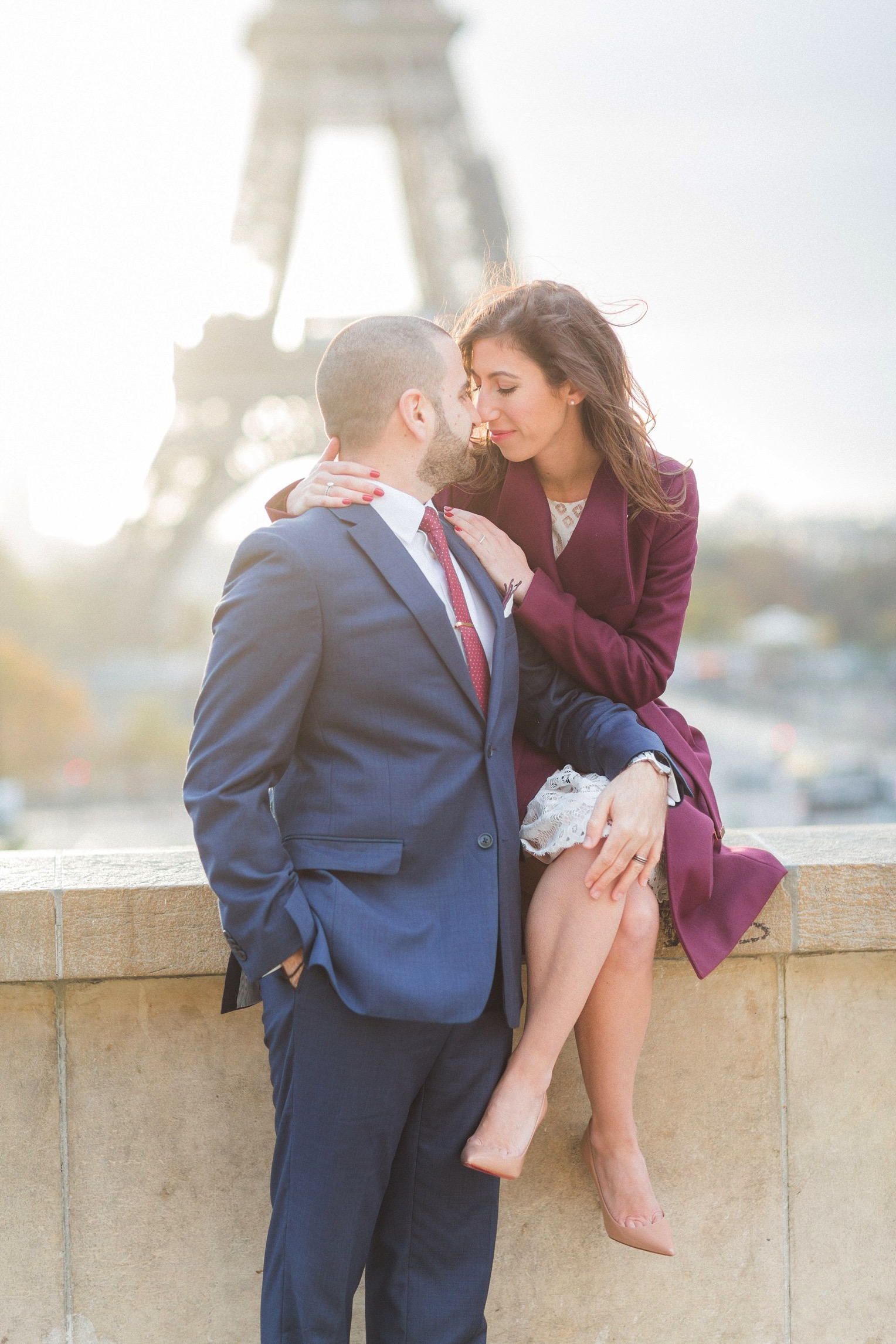 Paris engagement French Grey Photography 12
