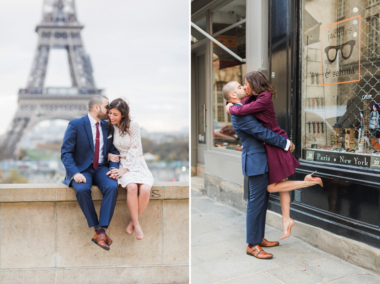 Paris engagement French Grey Photography 13