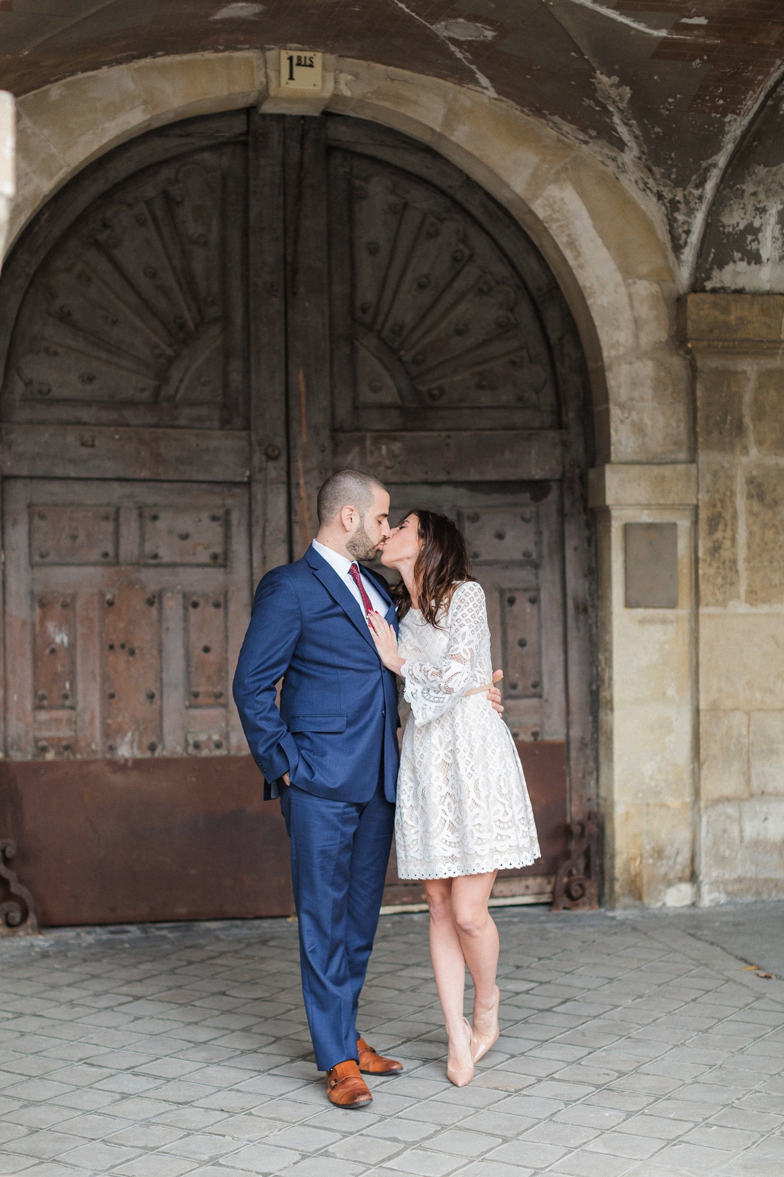 Paris engagement French Grey Photography 19