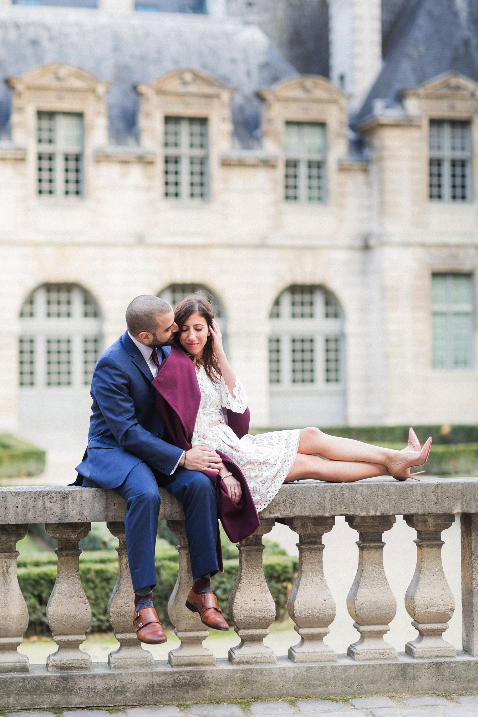 Paris engagement French Grey Photography 24