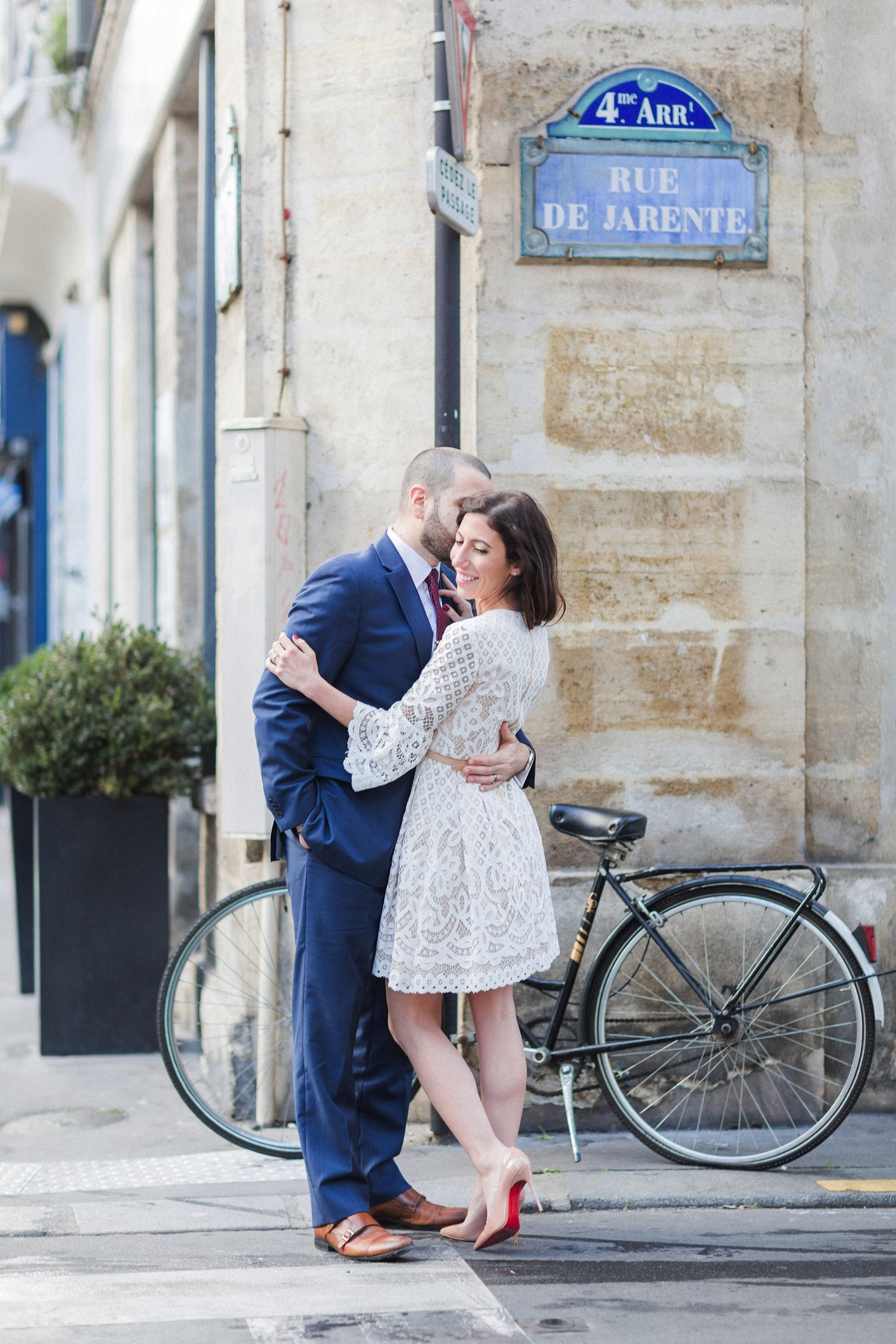 Paris engagement French Grey Photography 30