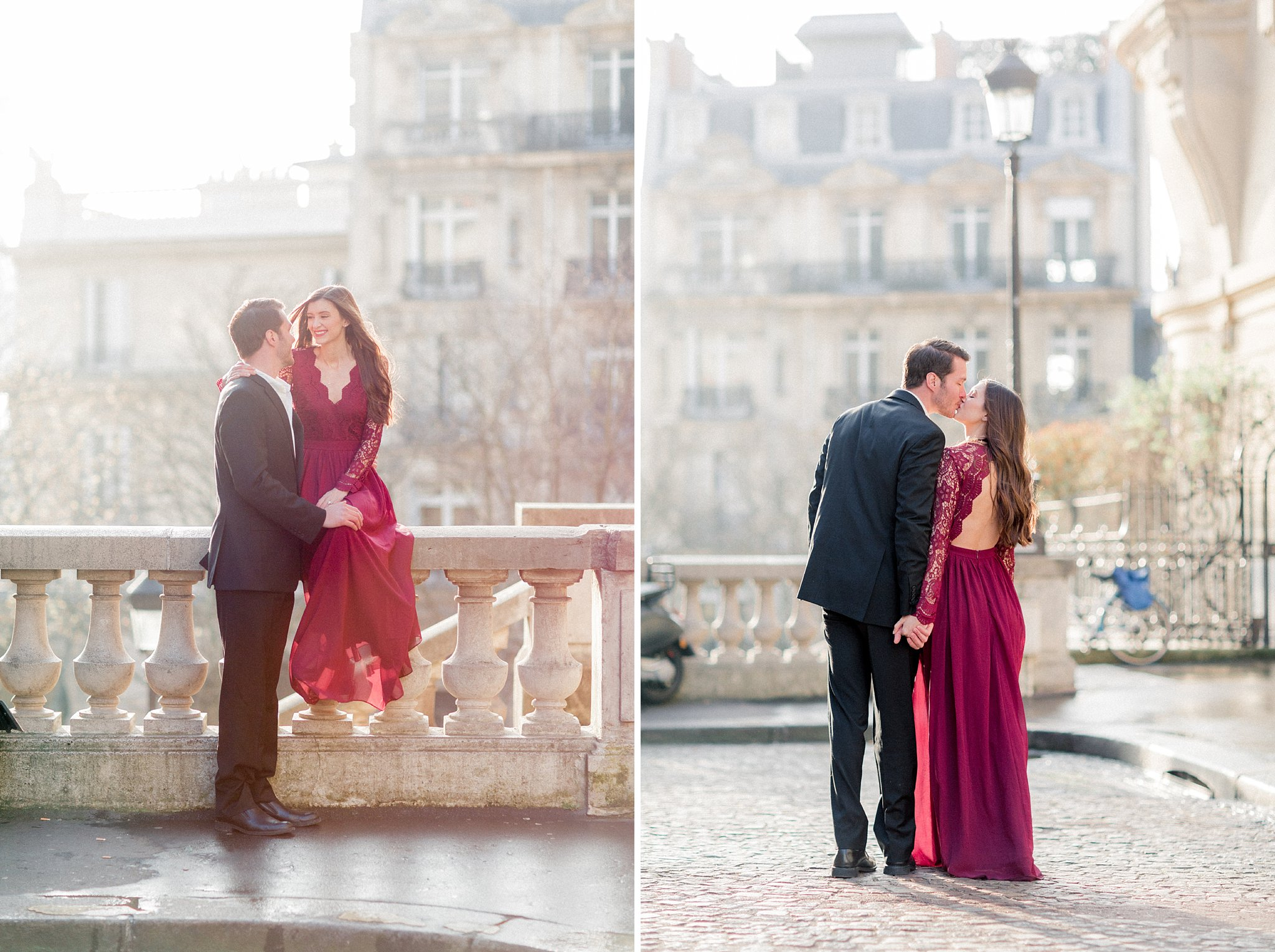 Engagement shoot in Paris | French Grey Photography